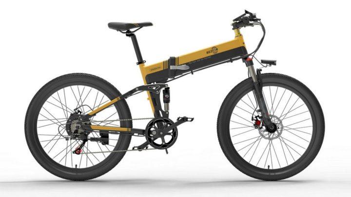 Bicicleta de montanha Bezior X500 Pro - uma opção elétrica e dobrável para melhorar a sua mobilidade