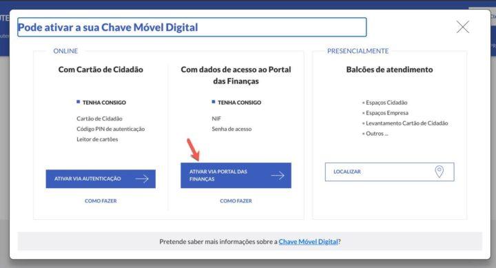 Ainda não tem Chave Móvel Digital? Peça-a online com os dados das Finanças