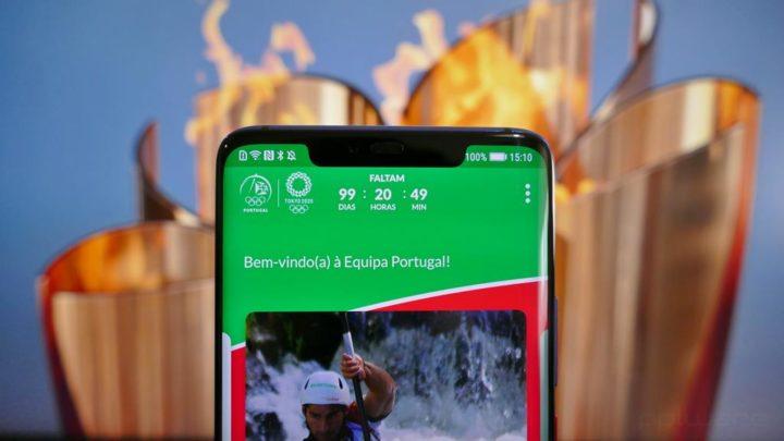 Jogos Olímpicos Tóquio 2020 - Venha apoiar os nossos atletas com a app Equipa Portugal