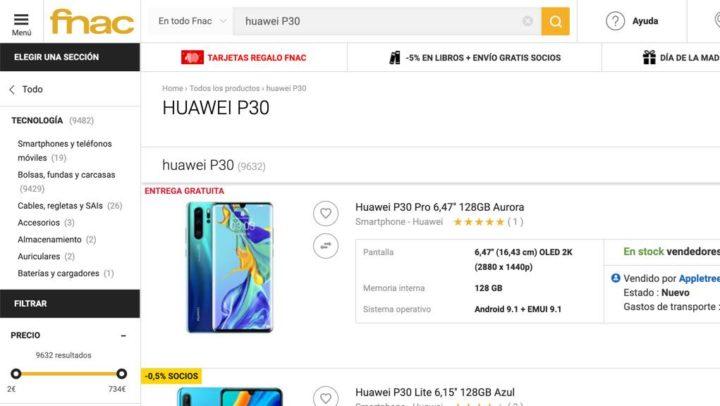 """Justiça obriga FNAC a """"entregar"""" Huawei P30 por apenas 124 euros"""