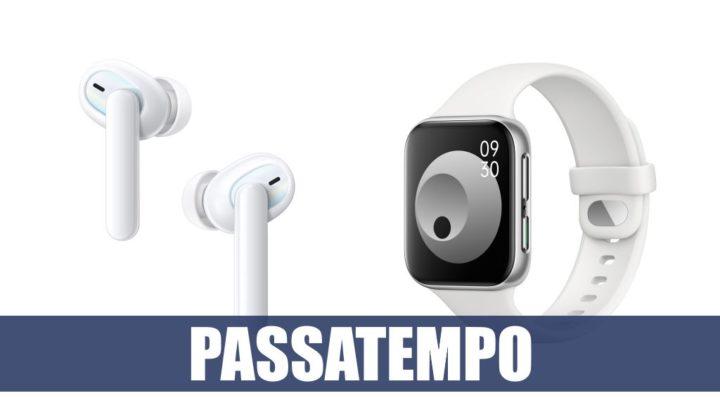Passatempo 16 anos Pplware: Ganhe um OPPO Watch + OPPO Enco X51