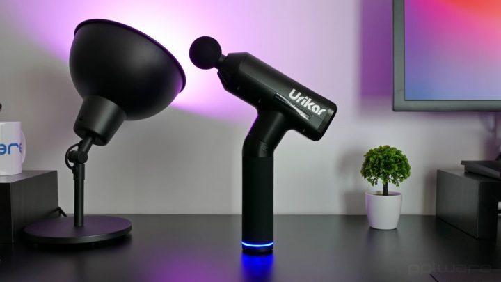 Análise: massajador elétrico percussivo Urikar Pro 3