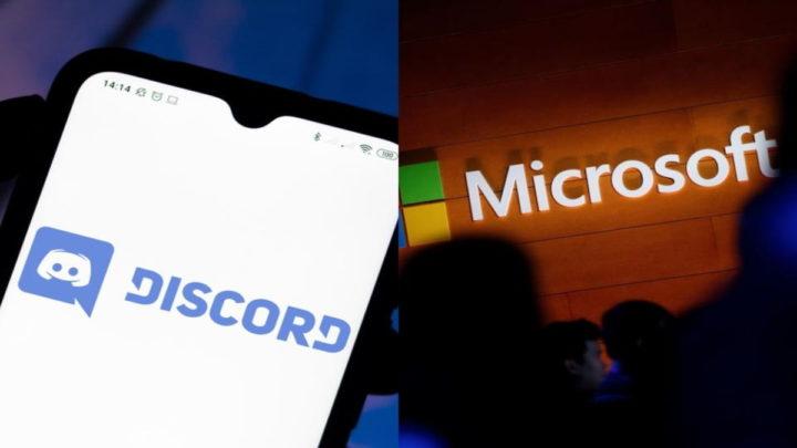 Microsoft e Discord