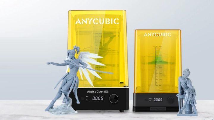 Anycubic Wash & Cure Plus - A máquina de pós-produção das impressões 3D