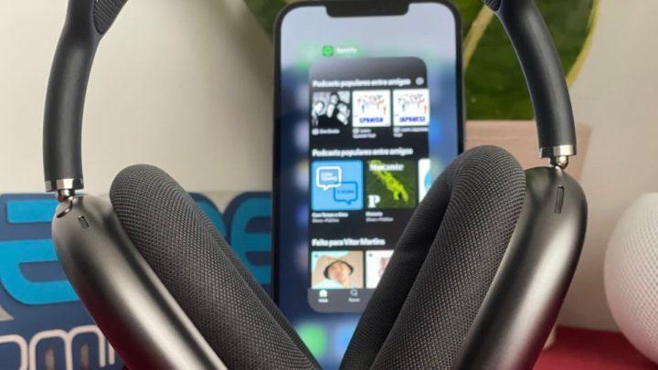 Imagem Spotify no iOS