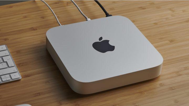 Imagem Mac mini com SoC M1