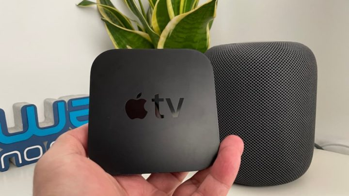 Imagem Apple TV com HomePod