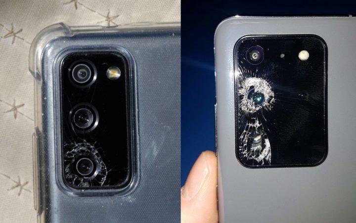 Samsung está a ser processada por problema nos vidro da câmara dos Galaxy S20