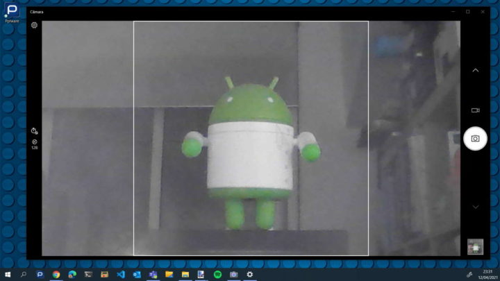 Windows 10 câmara webcam testar