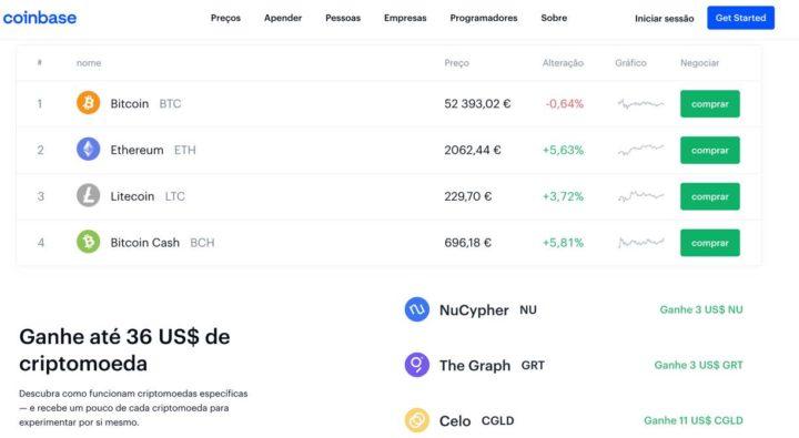 Coinbase: Maior plataforma de compra de criptomoedas entra no Nasdaq