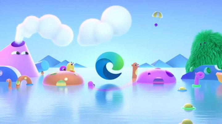 Edge browser crianças Internet novos