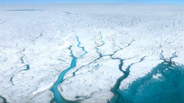 Imagem de Alterações climáticas que provocam o degelo e a perda das calota polares