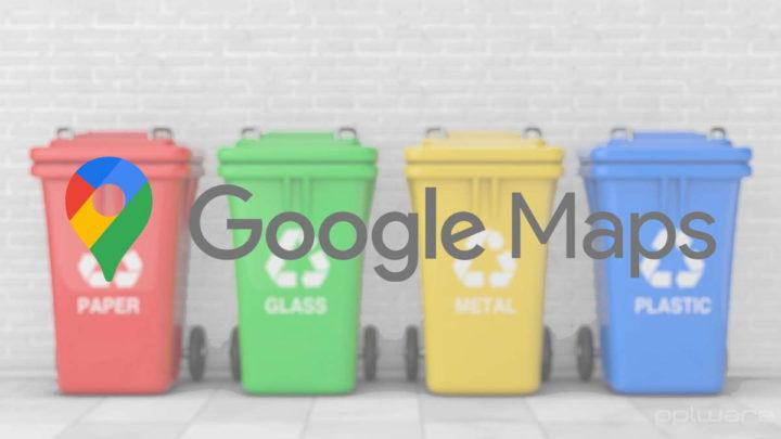 Google Maps reciclar novidade informação