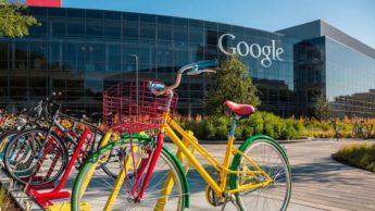 Imagem Google Campus em teletrabalho