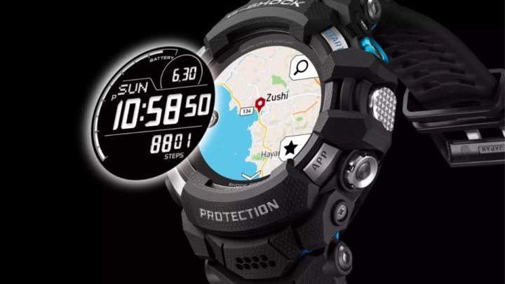 Imagem smartwatch Casio G-Shock com Wear OS