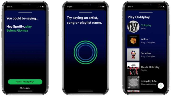 Spotify publicidade comando streaming áudio
