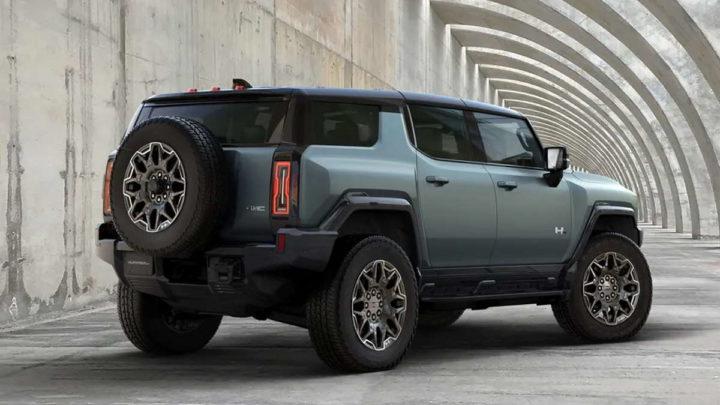 Hummer SUV carro elétrico GMC