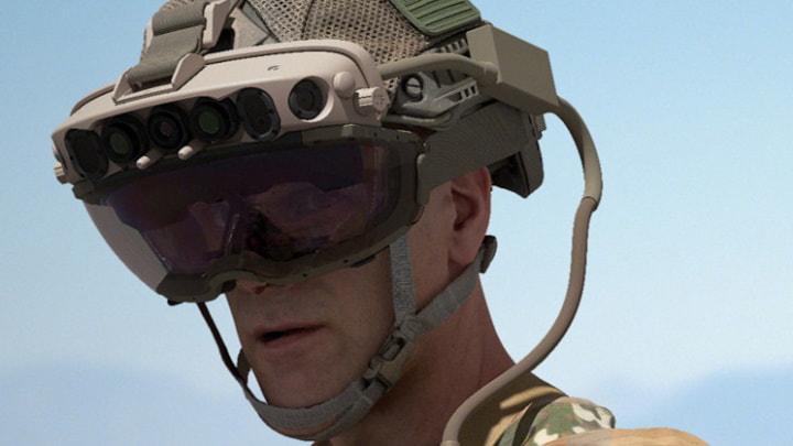 Microsoft fechou negócio de $21,9 mil milhões para dispositivo de RA para o exército