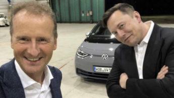 Herbert Diess e Elon Musk