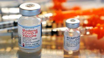 Vacina da Pfizer-BioNTech e Moderna