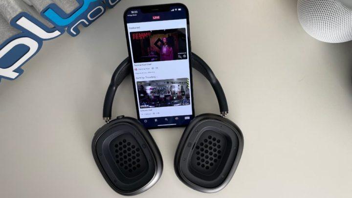 Ilustração de serviços de streaming de música para ouvir músicas gratuitamente