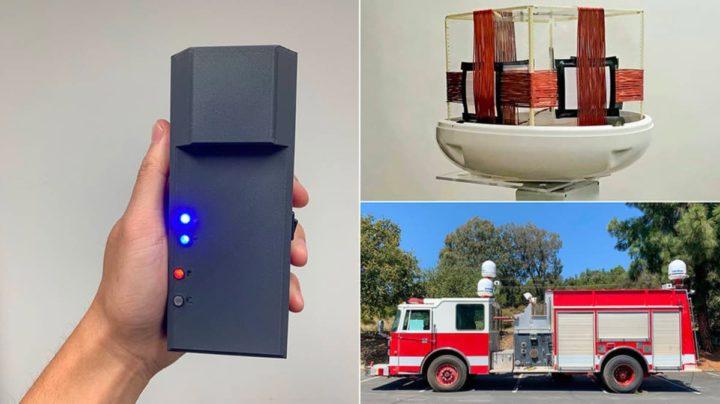 Imagem do POINTER, um dispositivos criado pela NASA para ajudar os bombeiros