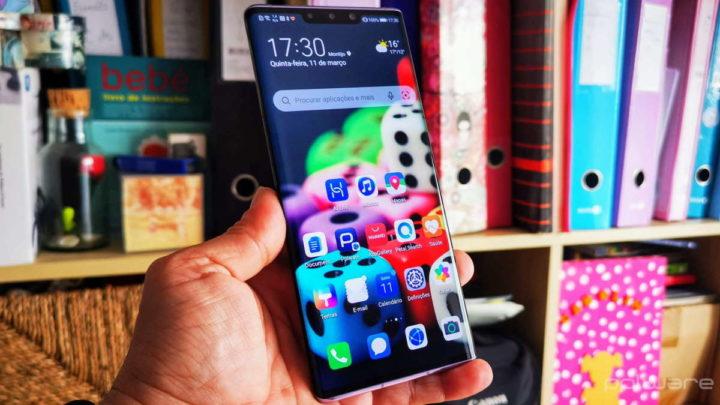 Huawei smartphones armazenamento bateria trocar