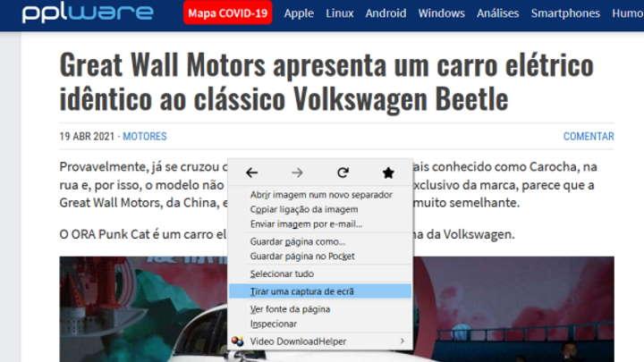 Mozilla Firefox browser novidades melhorias