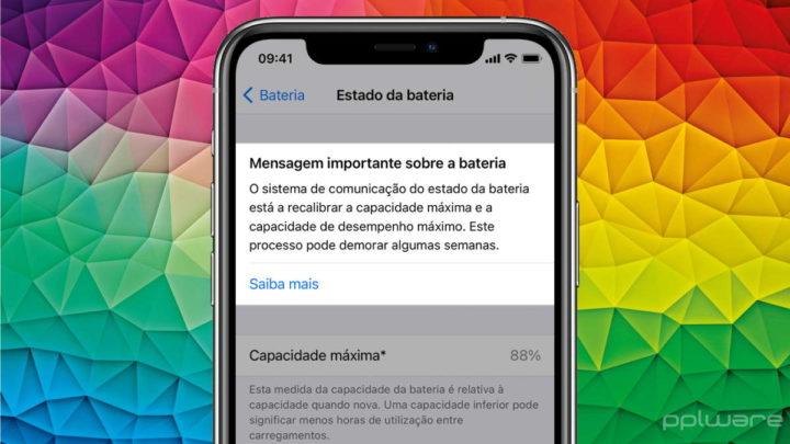 iOS iPhone 11 bateria Apple calibrar