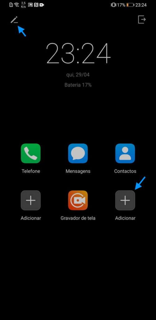 Huawei bateria smartphone utilização apps