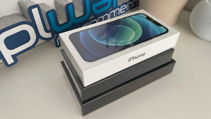 Imagem iPhone 12 e outros iPhones