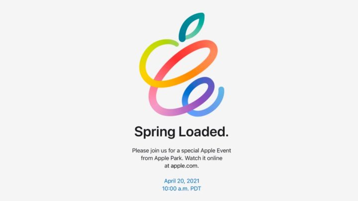 Imagem Spring Loaded do evento Apple