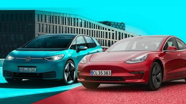 Tesla e Volkswagen