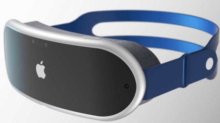 Ilustração de óculos de realidade mista