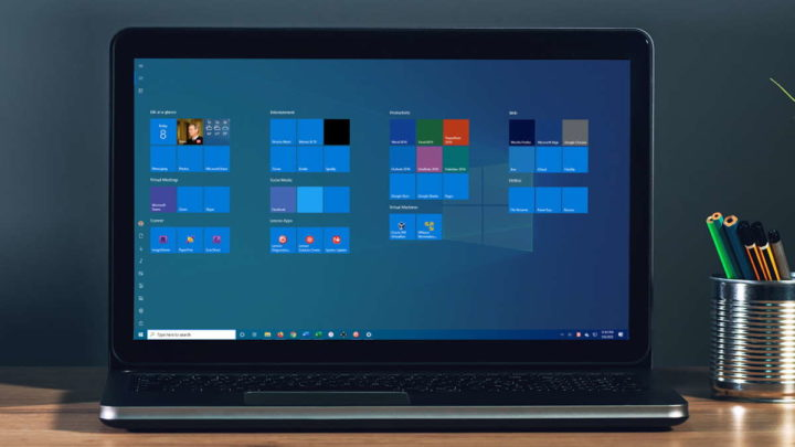 Windows 10 som controlar EarTrumpet