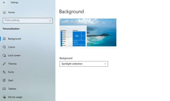 Windows 10 personalizado Microsoft utilizador novidades