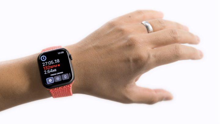 Imagem Apple Watch com AssistiveTouch