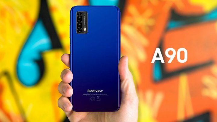 Blackview A90 - Um novo smartphone com Android 11 disponível por menos de 100 €
