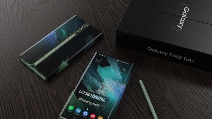 Samsung Galaxy Z Fold Tab - Um conceito tripartido