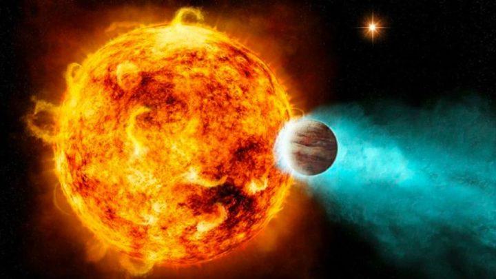 Imagem do planeta TOI-1431b