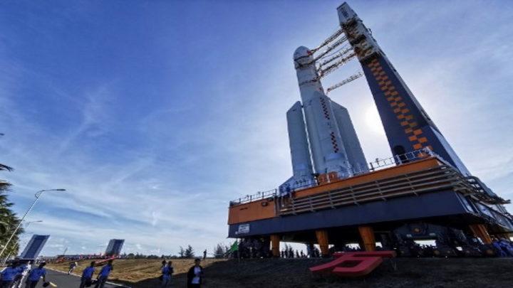 nave espacial chinesa Tianwen-1