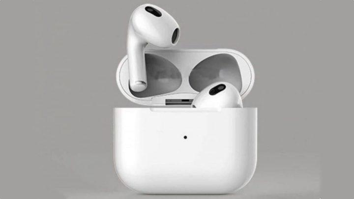 Imagem AirPods 3 da Apple