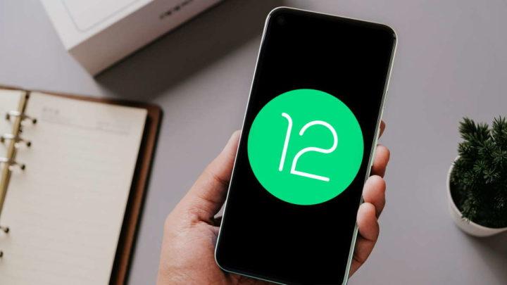 Android 12 Google mudança notificações widgets