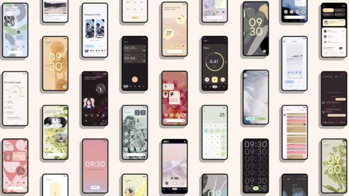 Android 12 Google smartphones marcas modelos