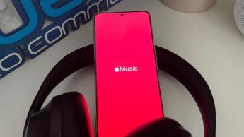 Ilustração Apple Music Android