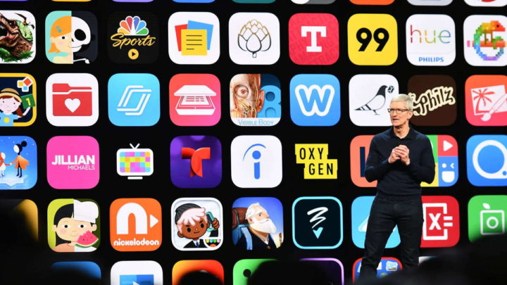 Epic Apple App Store lucro loja