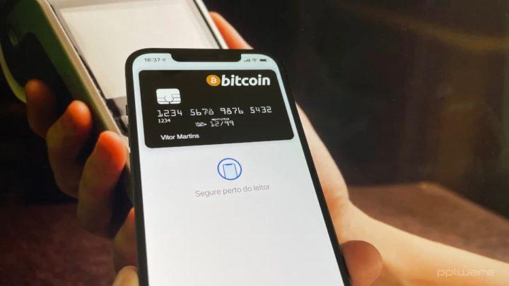 Imagem Apple Pay com Bitcoin e outras criptomoedas
