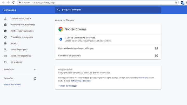 Problemas con el navegador Google Chrome Windows 10