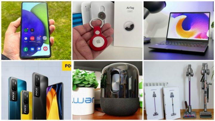 E os destaques tecnológicos da semana que passou foram... - Google, Samsung, Apple, Jimmy, Chuwi