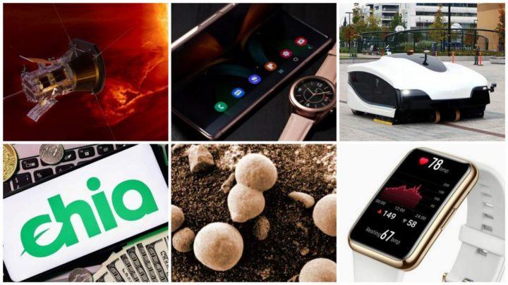 E os destaques tecnológicos da semana que passou foram... - Samsung, Galaxy Z Fold3, Chia, Huawei